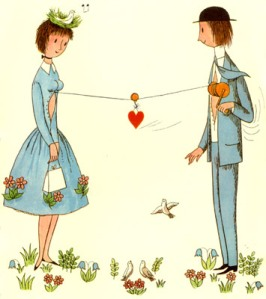 peynet gli innamorati