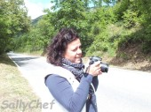 Carmen imposta la fotocamera