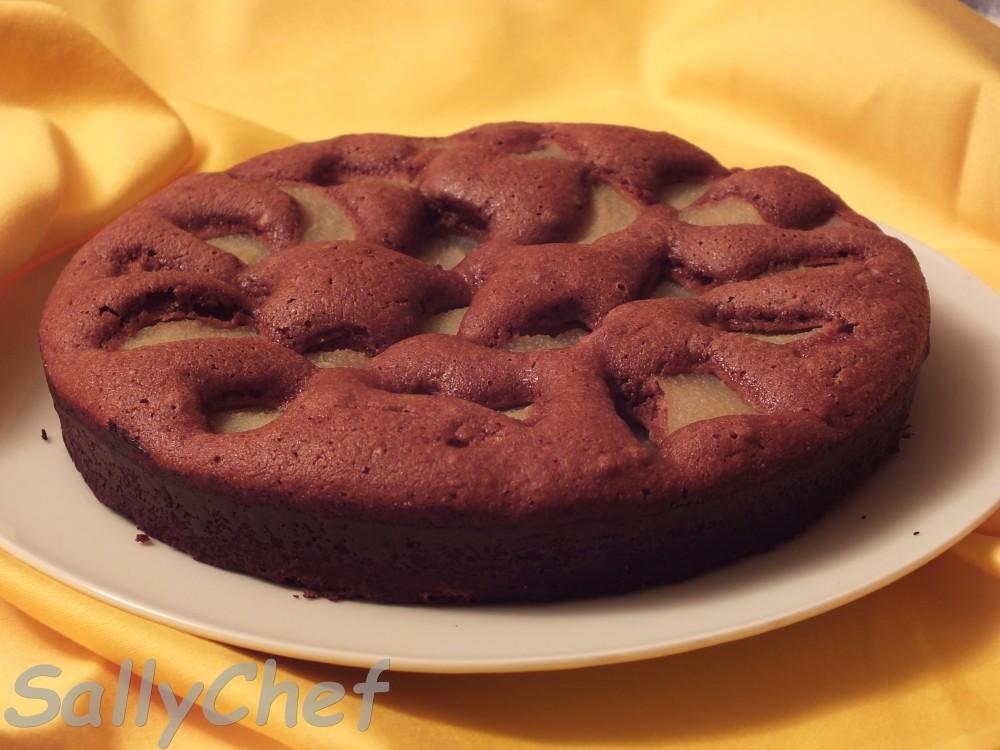 torta banana e cioccolato, un nuovo look  (3/3)