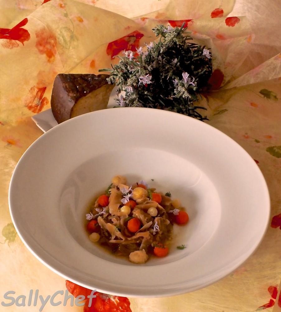 zuppetta di zucca e verza con Ubaldino in doppia cottura (1/5)