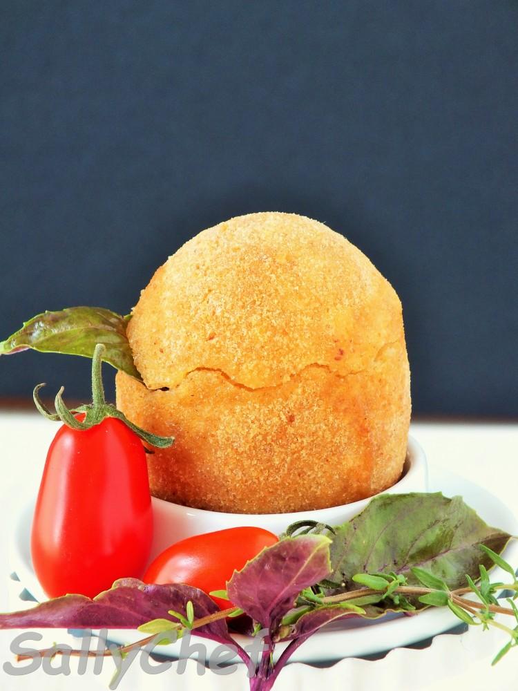 uovo fritto con sorpresa al Parmigiano (6/6)