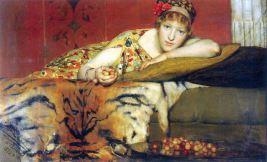 Ciliegie - Sir Lawrence Alma-Tadema, Olandese (1873)
